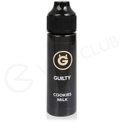 Guilty Cookies & Milk Shortfill E-Liquid by Ohm Brew 50ml