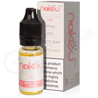 Hawaiian Pog On Ice eLiquid by Naked 100