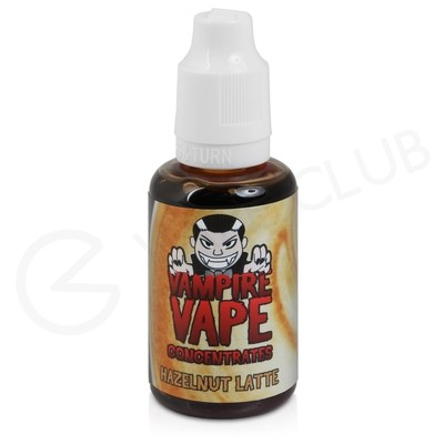 Hazelnut Latte Flavour Concentrate by Vampire Vape