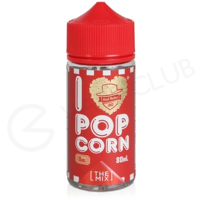 I Love Popcorn Too 80ml Shortfill by Mad Hatter Juice