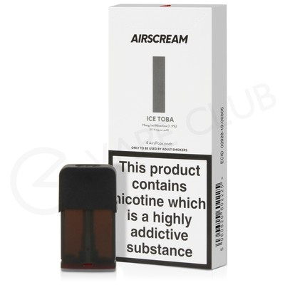 Ice Toba Prefilled Pod by Airscream