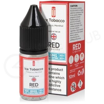 Ice Tobacco E-Liquid by Red Liquid 40/60