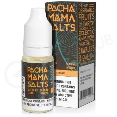 Icy Mango Nic Salt E-Liquid by Pacha Mama Salts