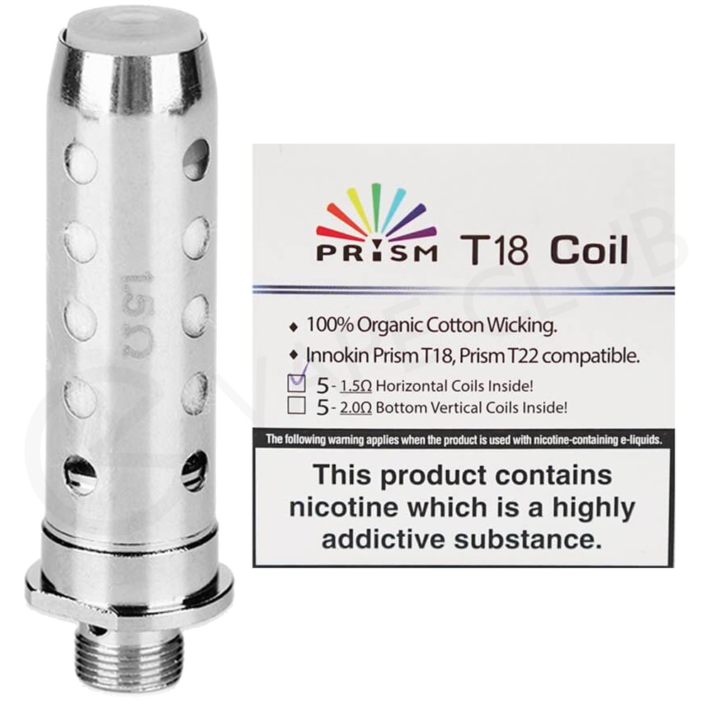 Innokin Prism Replacement Coil (T18, T22)