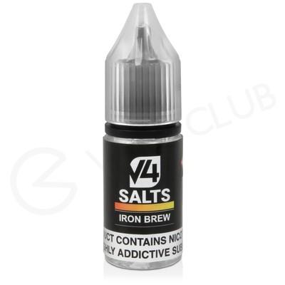 Iron Brew Nic Salt E-Liquid by V4 VAPOUR
