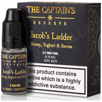 Jacob's Ladder Max VG eLiquid by The Captain's Reserve