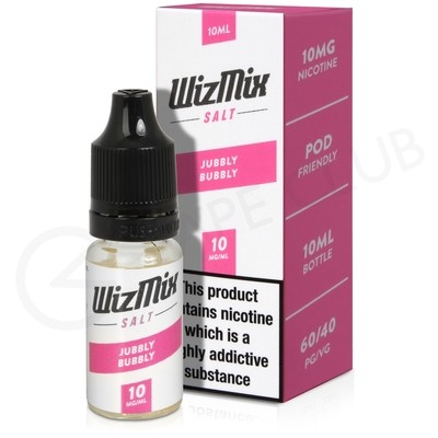 Jubbly Bubbly Nic Salt E-liquid by Wizmix