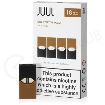 JUUL Golden Tobacco Nic Salt E-Liquid Pod