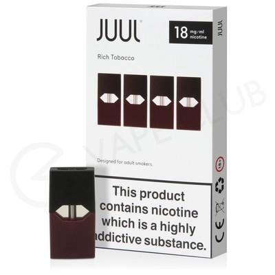 JUUL Rich Tobacco Nic Salt E-Liquid Pod