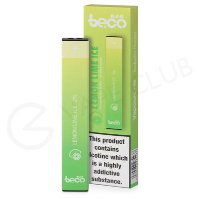 Lemon Lime Ice Beco Bar Disposable Device