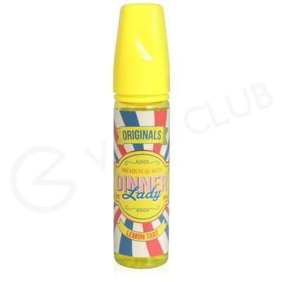 Lemon Tart Shortfill E-Liquid by Dinner Lady 50ml