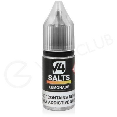 Lemonade Nic Salt E-Liquid by V4 VAPOUR