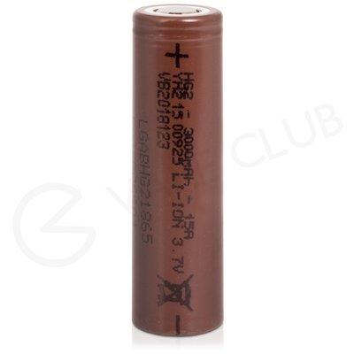 LG HG2 18650 Rechargeable Vape Battery (3000mAh 15A)