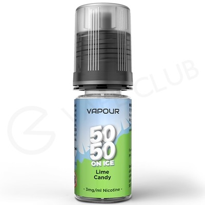 Lime Candy On Ice eLiquid by Vapour 50/50