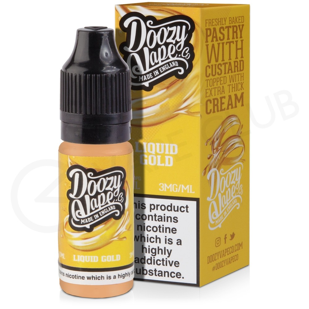 Liquid Gold eLiquid by Doozy Vape Co.