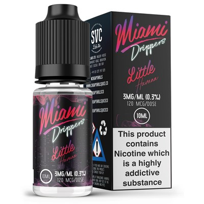 Little Havana eLiquid by Miami Drippers