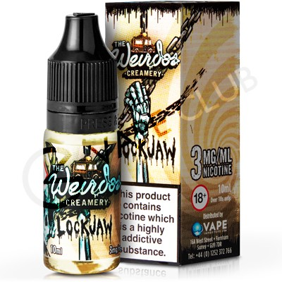 Lockjaw eLiquid by Weirdo's Creamery