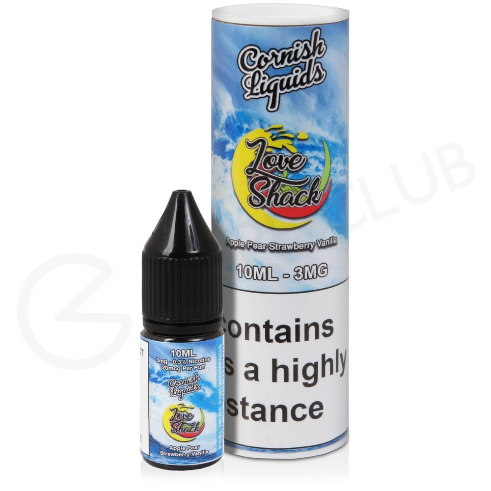 Love Shack eLiquid By Cornish Liquids