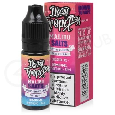 Malibu Nic Salt E-Liquid by Doozy Tropix