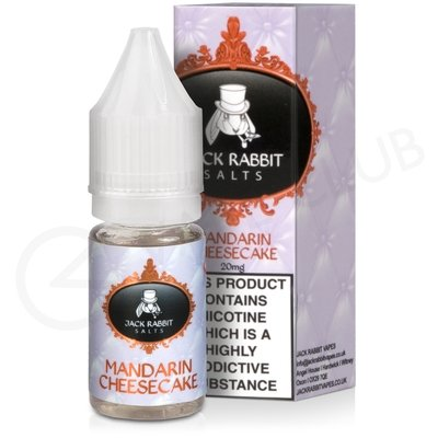 Mandarin Cheesecake Nic Salt eLiquid by Jack Rabbit