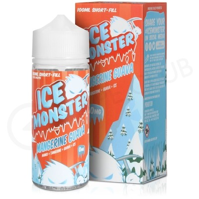 Mangerine Guava 100ml Shortfill by Ice Monster