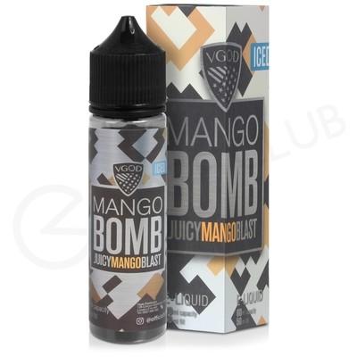 Mango Bomb Iced Shortfill E-Liquid by VGOD Bomb Line 50ml