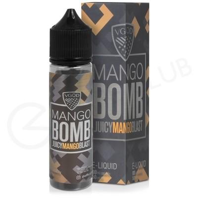 Mango Bomb Shortfill E-Liquid by VGOD Bomb Line 50ml