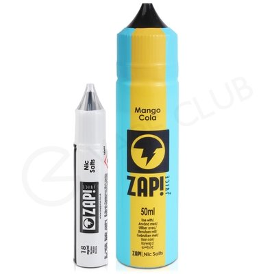 Mango Cola Shortfill E-liquid by Zap Juice 50ml