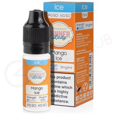 Mango Ice E-Liquid by Dinner Lady Ice