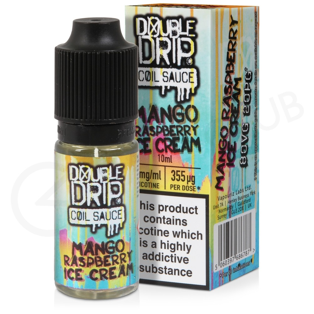 Mango Raspberry Ice Cream eLiquid by Double Drip