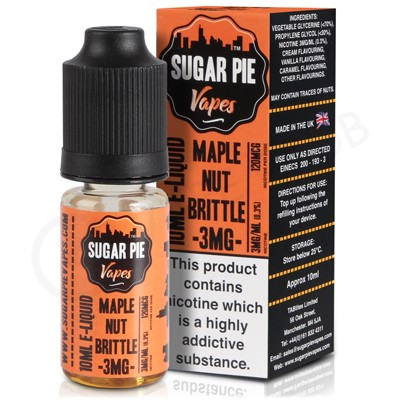 Maple Nut Brittle eLiquid by Sugar Pie Vapes