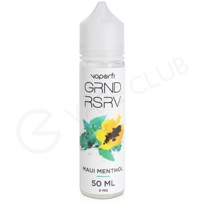 Maui Menthol eLiquid by Grand Reserve 50ml