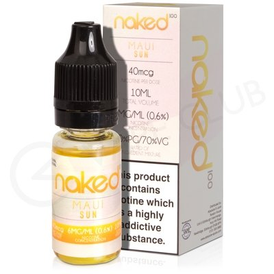 Maui Sun eLiquid by Naked 100