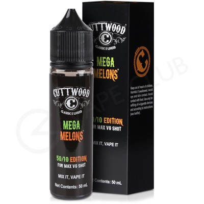 Mega Melons Shortfill E-Liquid by Cuttwood 50ml