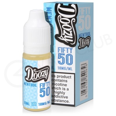Menthol E-Liquid by Doozy Fifty 50