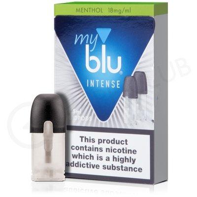 Menthol Nic Salt E-Liquid Pod by MyBlu Intense