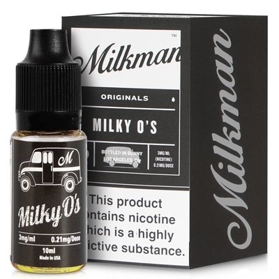 Milky O's E-Liquid by The Milkman