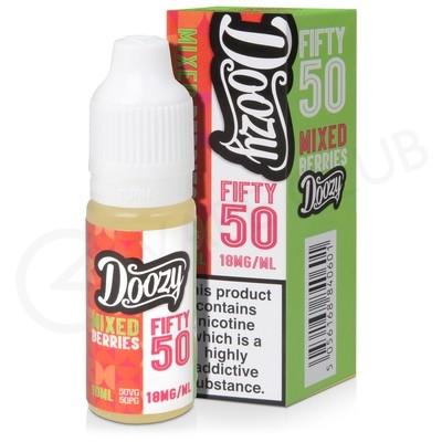 Mixed Berries E-Liquid by Doozy Fifty 50