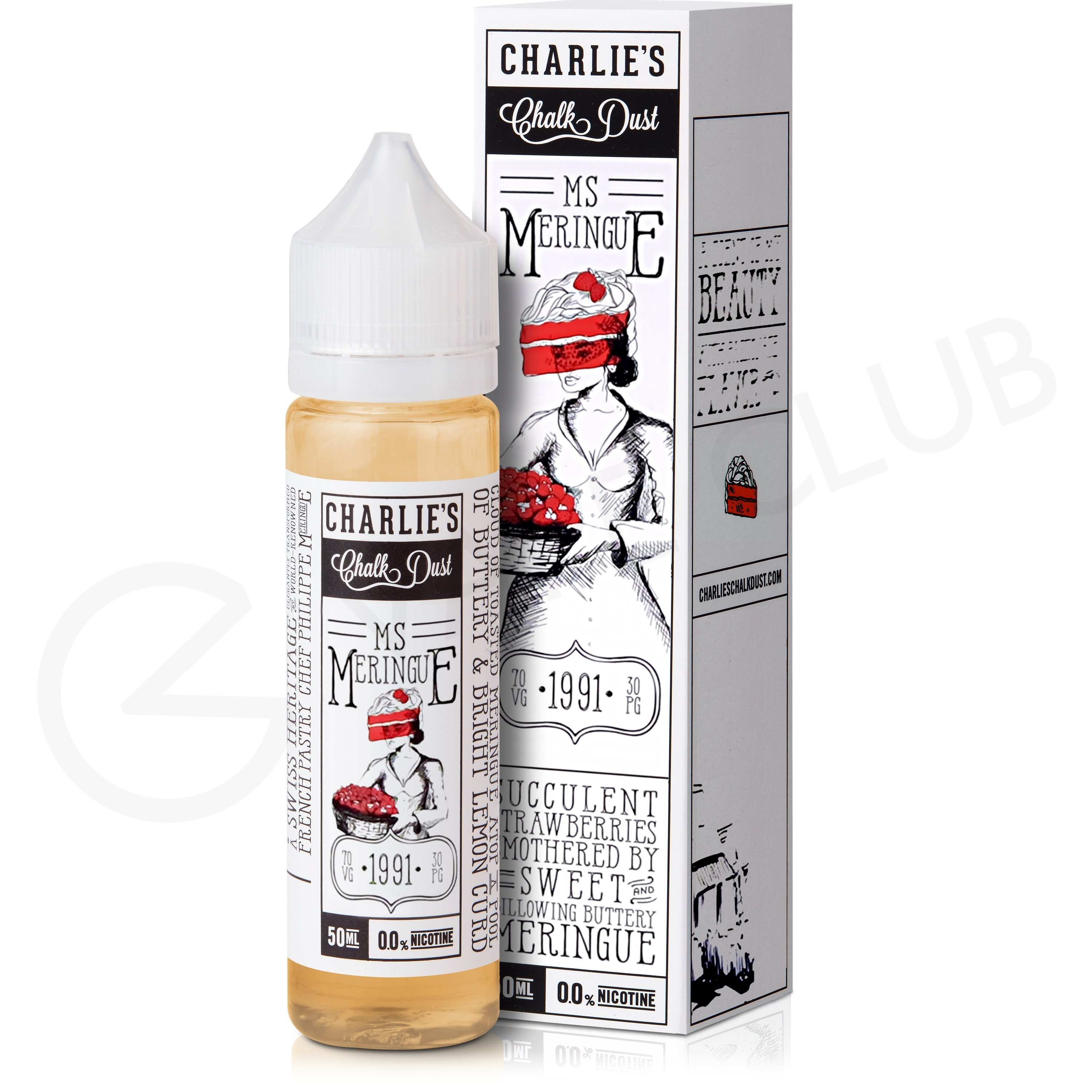 Ms Meringue eLiquid By Mr Meringue 50ml