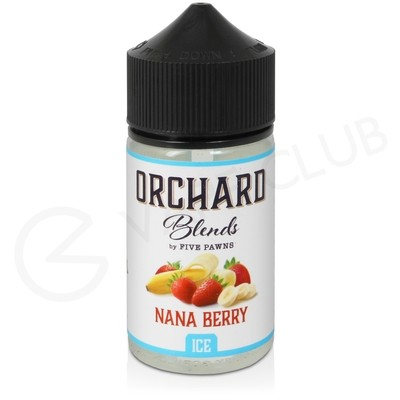 Nana Berry Ice Shortfill E-Liquid by Five Pawns Orchard Blends 50ml