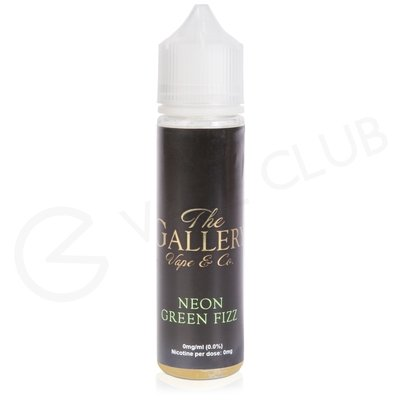 Neon Green Fizz eLiquid by The Gallery Vape Co 50ml