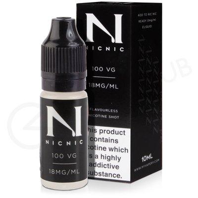 Nic Nic 100VG Nicotine Shot by Nic Nic