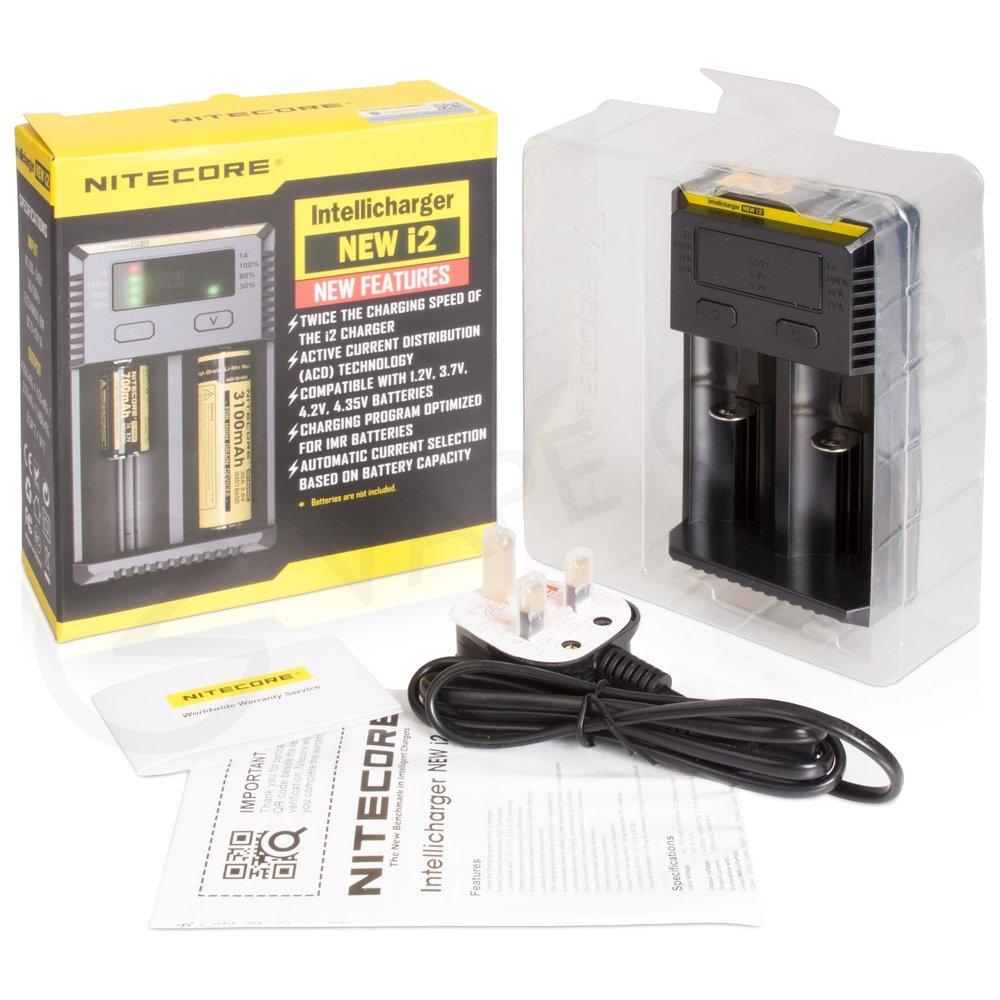 Nitecore I2 Vape Battery Charger Two Bay Buy Online 1 Slot Baterai Made