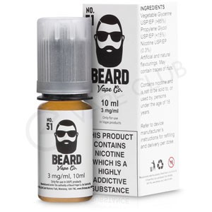 No.51 eLiquid by Beard Vape Co.