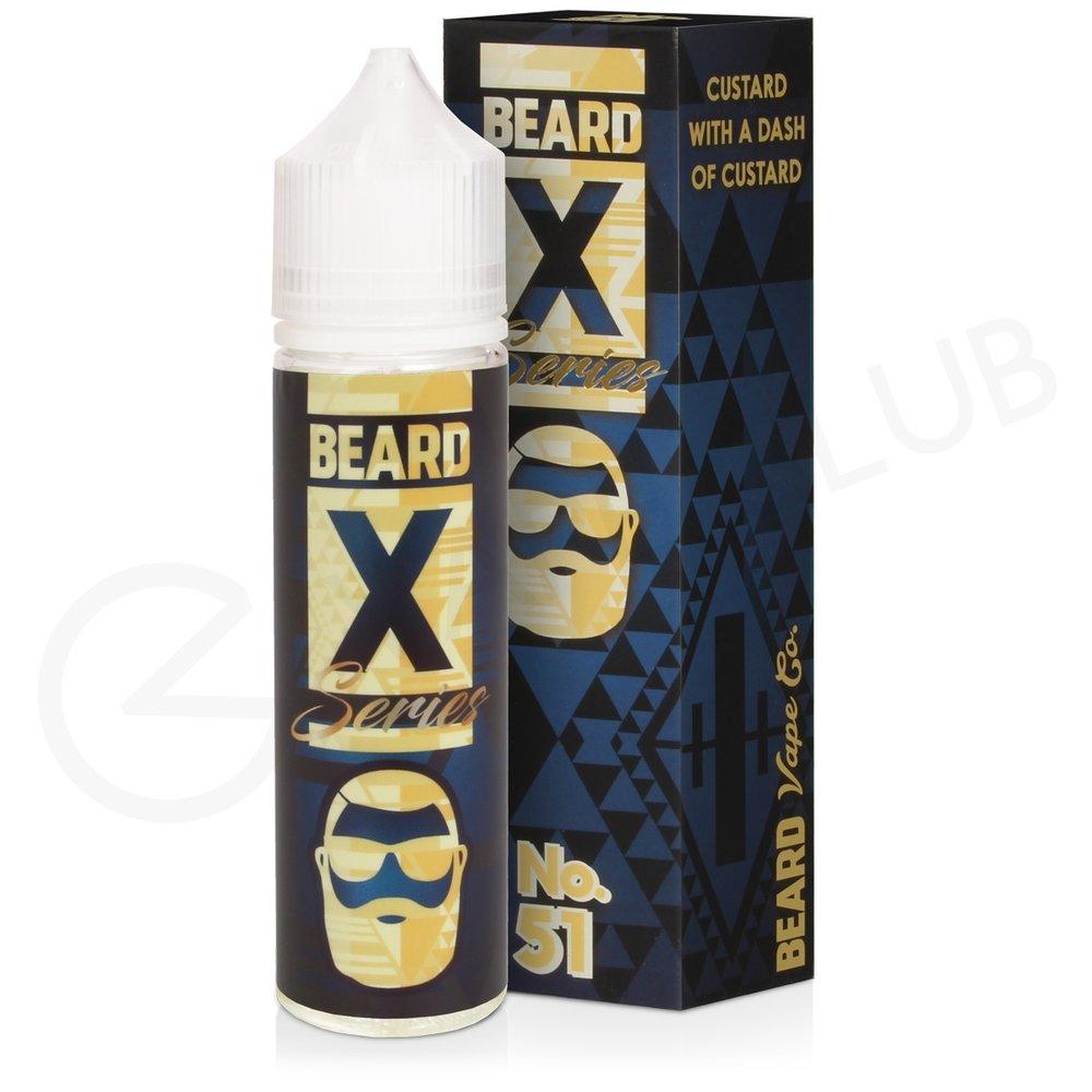 No.51 Shortfill E-Liquid By Beard X Series 50ml