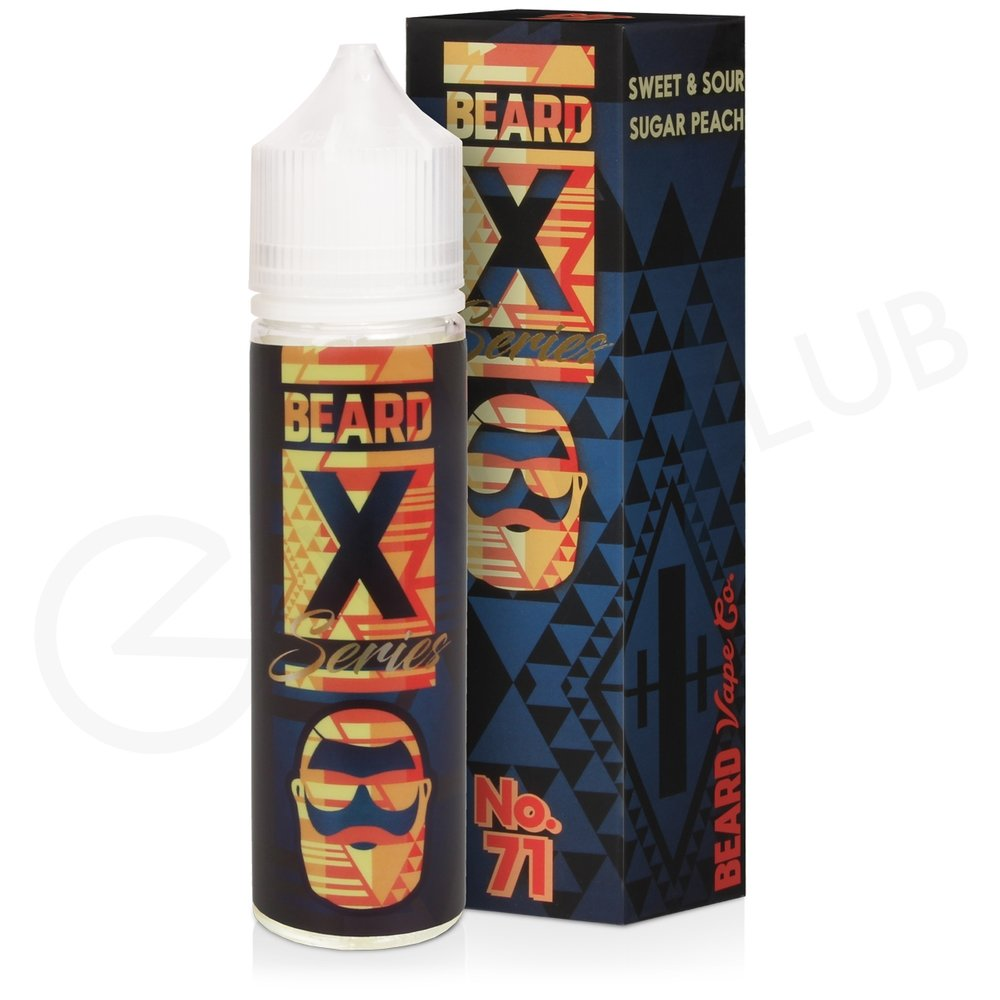 No.71 eLiquid By Beard X Series 50ml