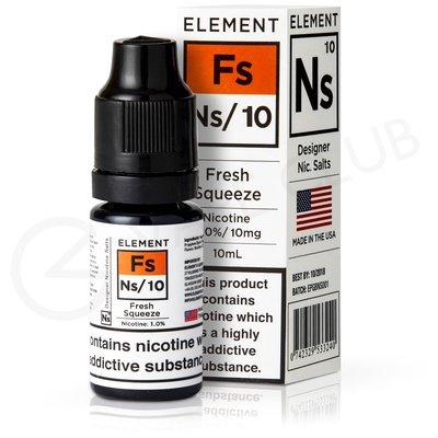 NS10 Fresh Squeeze eLiquid by Element