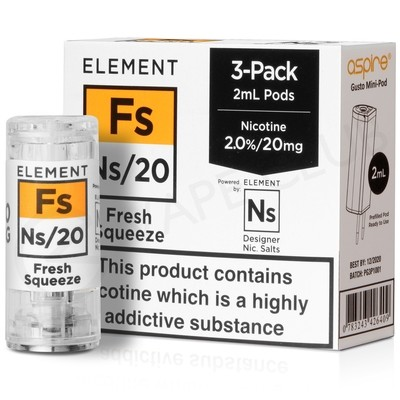 NS20 & NS10 Fresh Squeeze eLiquid Pod By Element