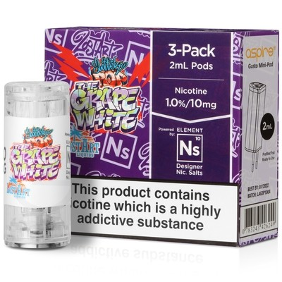 NS20 & NS10 The Grape White eLiquid by The Lost Arts