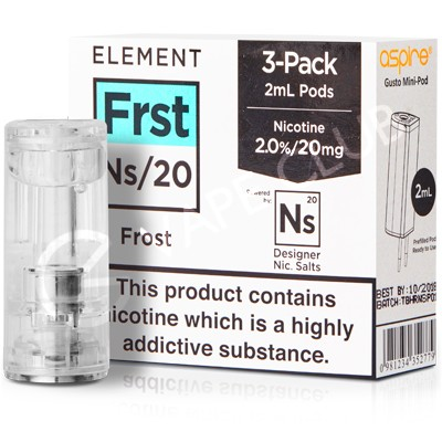 NS20 Frost eLiquid Pod by Element